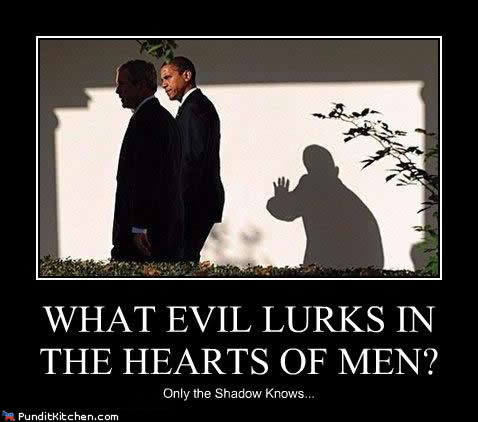 Who Knows What Evil Lurks in the Hearts of Men?