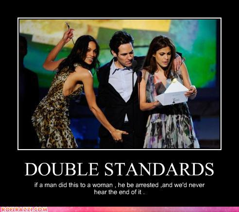 the double standards of feminism Background: a significant portion of premarital sexual activity is casual rather than in relationships, and commentators disagree on whether this is what women prefer objective: we examine gender differences in attitudes toward casual sexwe also assess whether there is a double standard whereby women are judged more harshly for casual sex.