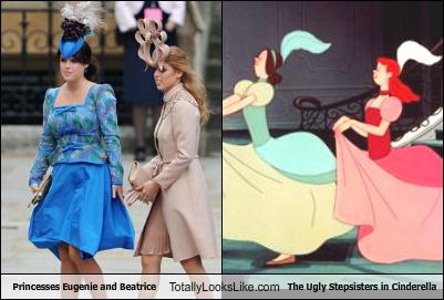 Princesses Eugenie And Beatrice Totally Look Like The Ugly