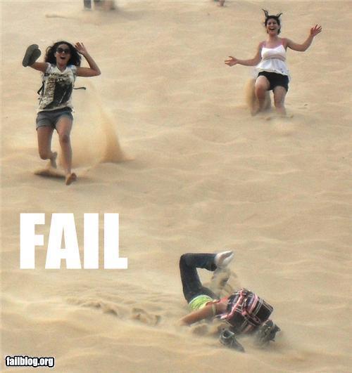 Sand Running Fail Randomoverload