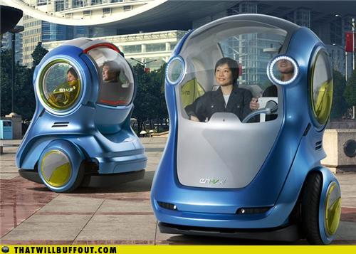 Pod Cars of the Future - RandomOverload