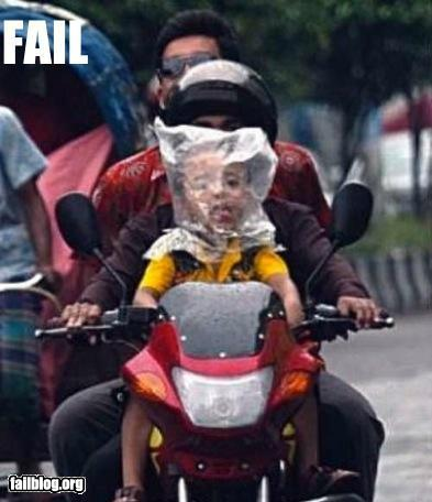 CLASSIC: Baby Helmet FAIL - RandomOverload