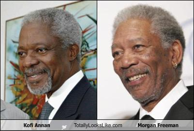 tll classics kofi annan totally looks like morgan freeman