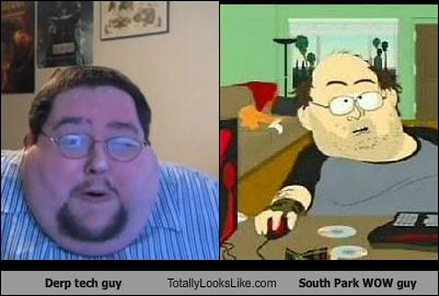 derp tech guy totally looks like �south park� wow guy