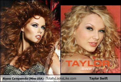 Alyssa Campanella (Miss USA) Totally Looks Like Taylor Swift Look