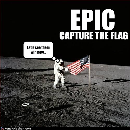 moon landing hoax flag - photo #22