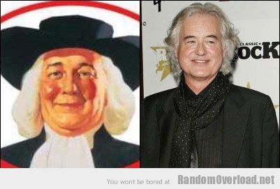Quaker Oats guy looks totally like Jimmy Page