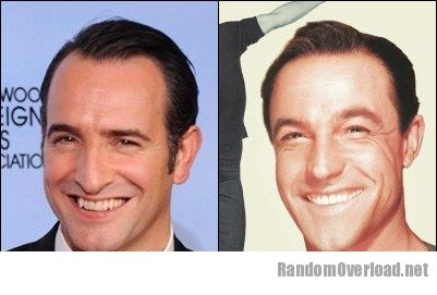Jean dujardin totally looks like gene kelly randomoverload for Dujardin kelly
