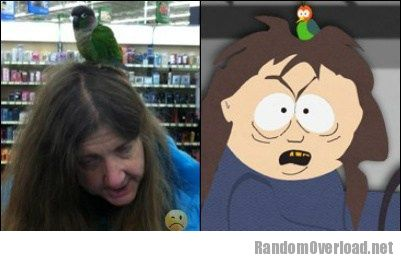 people of walmart lady totally looks like south park bus