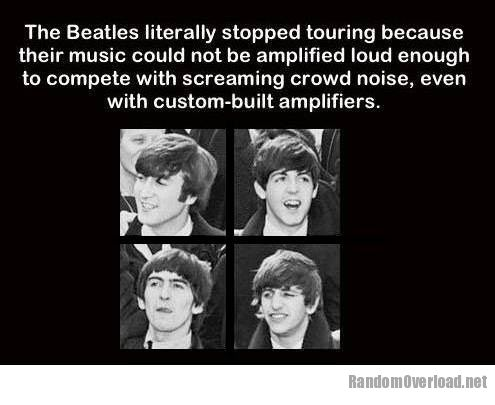 The Beatles Stopped Touring In