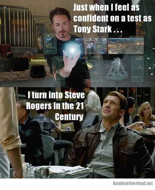 SuperWhoLockVengers Awesomeness C2a0funny-test-Tony-Stark-confident-Steve-Rogers
