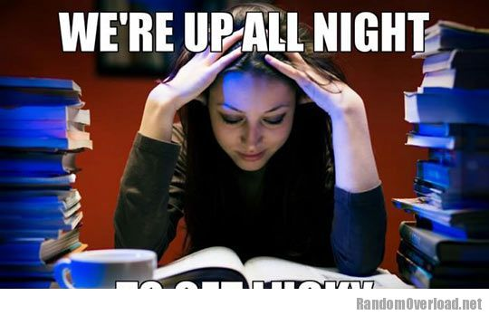 College Funny Study Images