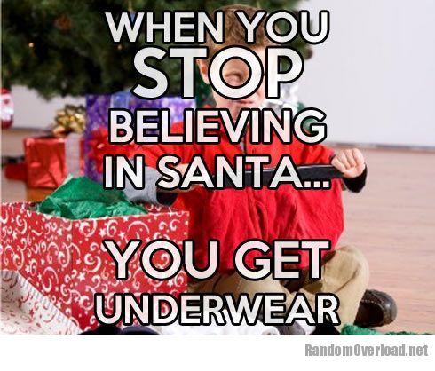 When you stop believing in Santa - RandomOverload