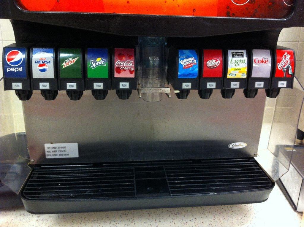 This Restaurant Has Pepsi And Coke Randomoverload