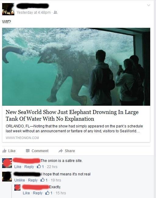 sea world,FAIL,the onion,facebook,animals