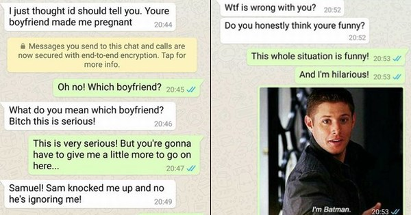 woman trolls some sorry stranger after a text claims  u0026quot your