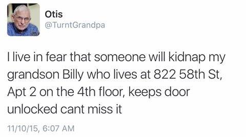dammit grandpa