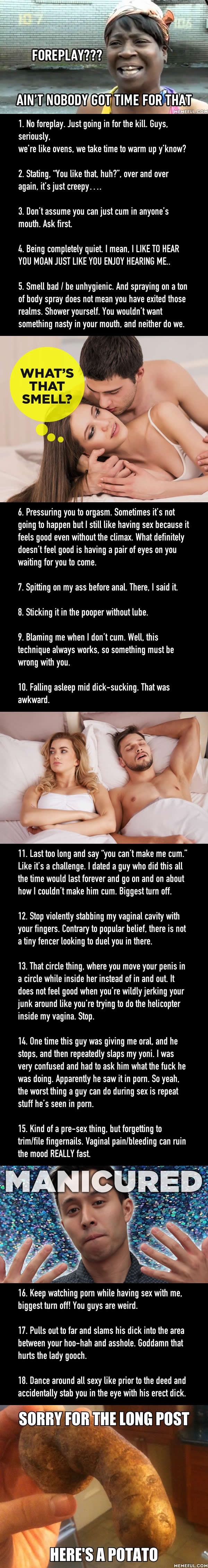 weird sex things guys like