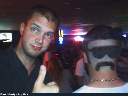 Bad Hair - Mustache