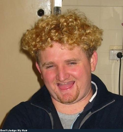 Bad Hair - good chances it's a merkin too. (click for 'merkin' definition)