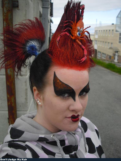 Bad Hair - Oh Snap Scorpion