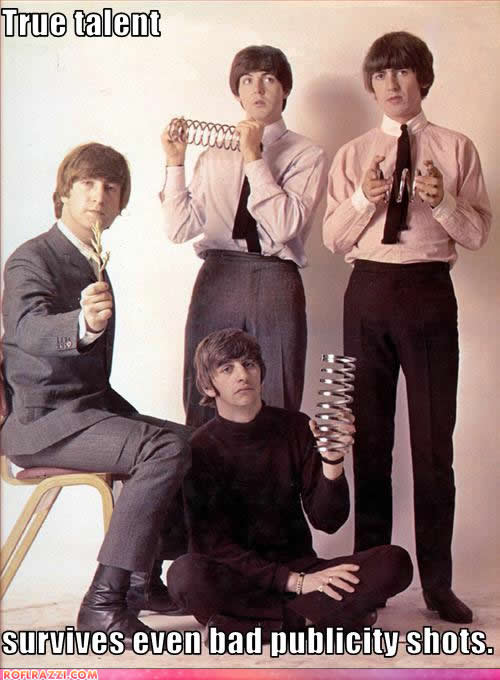 john lennon, paul mccartney, george harrison and ringo starr
