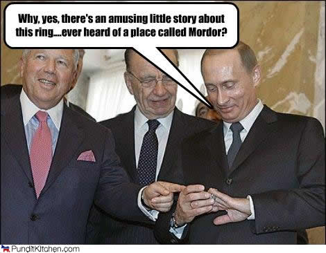 robert kraft, rupert murdoch and vladimir putin