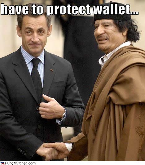 nicolas sarkozy and muammar al-gaddafi