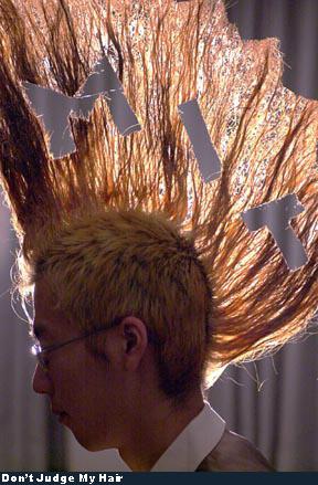 Bad Hair - I wonder where he went to school.