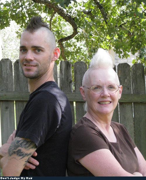 Bad Hair - Everyone loves family photo day.