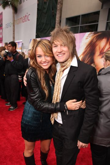 steve-rushton-miley-cyrus-at-the-hannah-montana