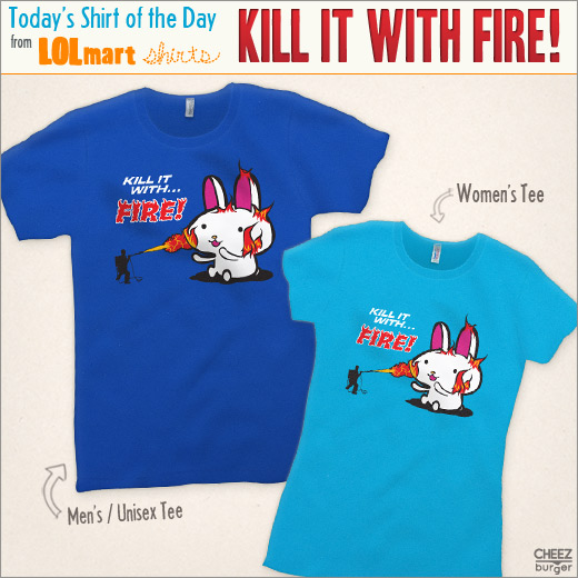 kill it with fire shirt