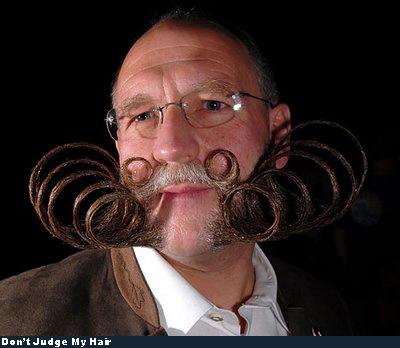 Bad Hair - curly beard