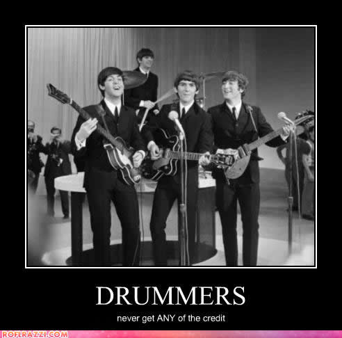 The Beatles: John Lennon, Paul McCartney, George Harrison and Ringo Starr