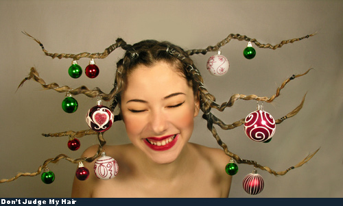 Bad Hair - Christmas Tree!