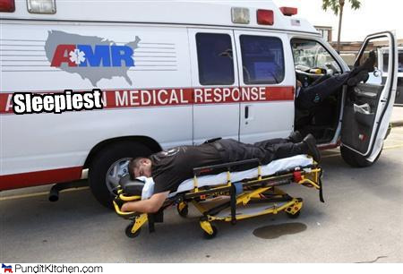 napping EMT