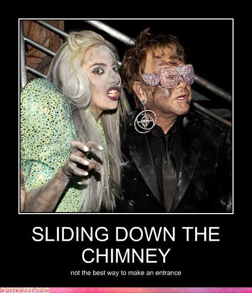 Lady GaGa and Elton John