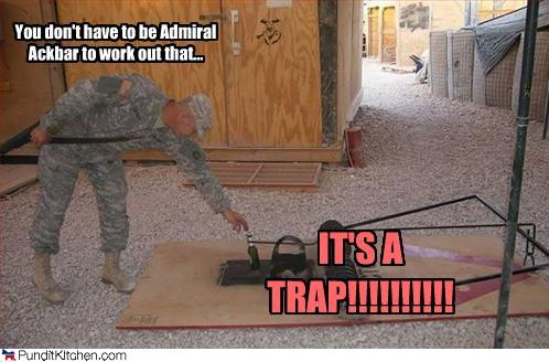 soldier sized mousetrap
