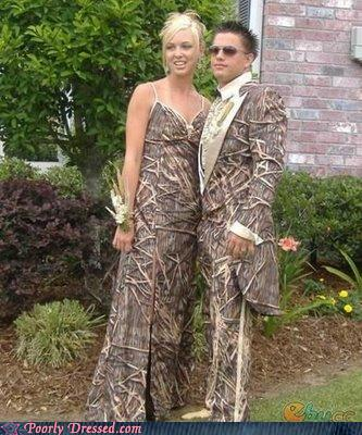 Fashion Fail - King and Queen of the Wicker Prom