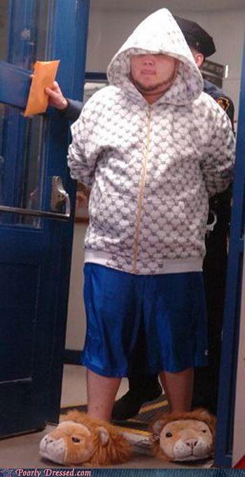 Fashion Fail - Sweet Prison Suit Dude!