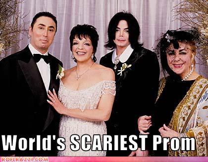 David Gest, Liza Minnelli, Michael Jackson, Elizabeth Taylor