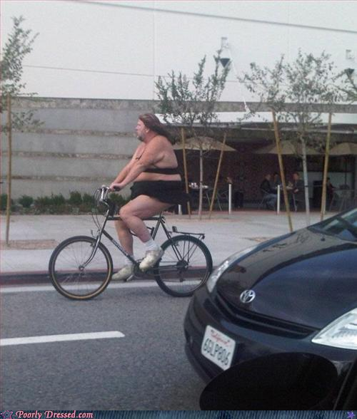Fashion Fail - Beautiful Day for a Bike Ride