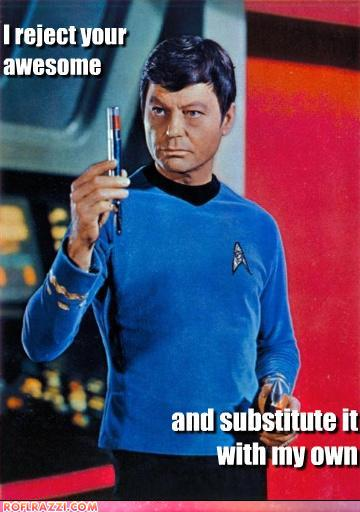 funny celebrity pictures - Kirk's awesome just doesn't cut it