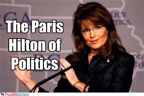 political pictures - The Paris Hilton of Politics