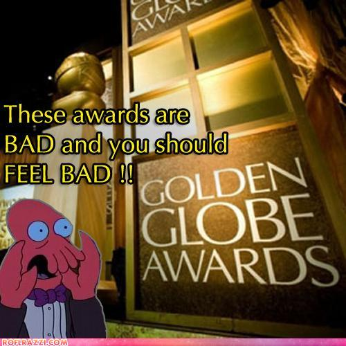 Golden Globes: You Should Be Ashamed