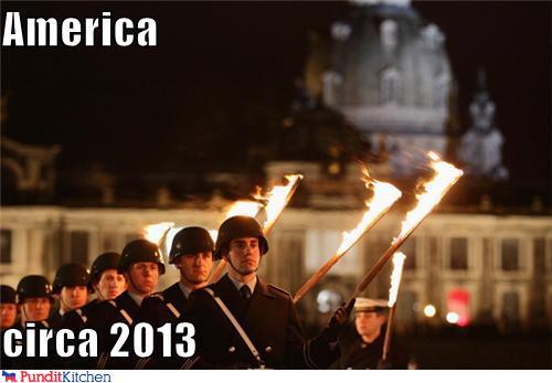 political pictures - America  circa 2013