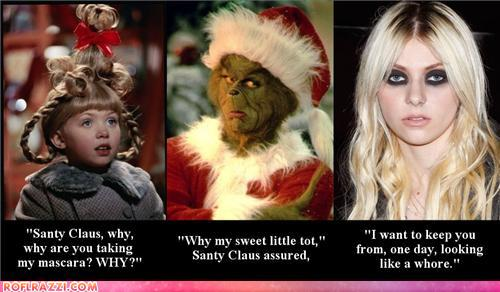 funny celebrity pictures - The Grinch Had Good Intentions
