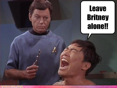 funny celebrity pictures - Leave Britney alone!!
