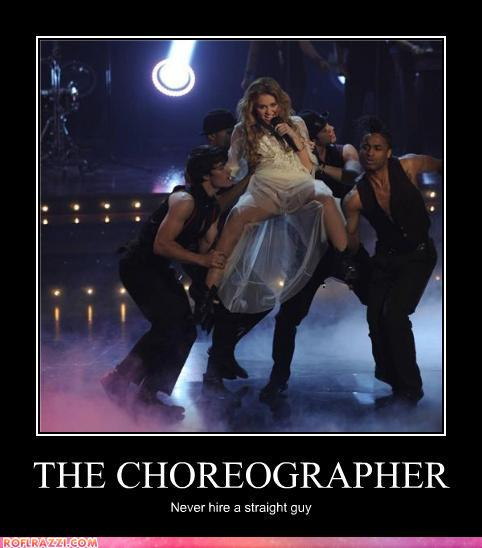 funny celebrity pictures - THE CHOREOGRAPHER
