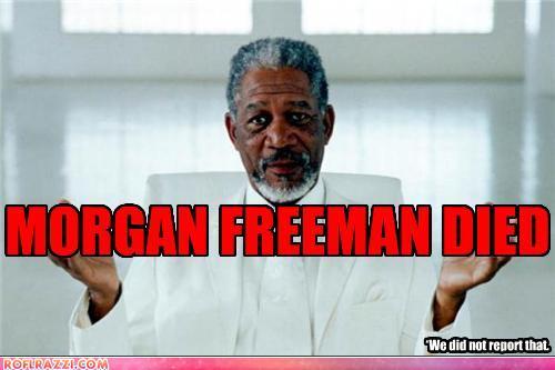Celebrity Pictures - Morgan Freeman Death